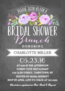 bridal shower brunch bridal shower invitation