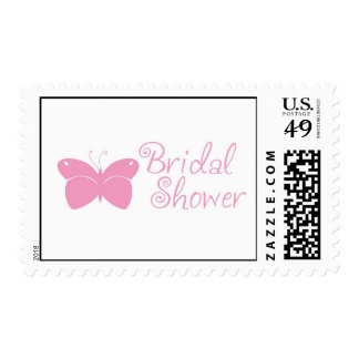 Bridal Shower Butterfly Postage Stamp