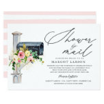 Bridal Shower By Mail Invitation Blush Pink Gold