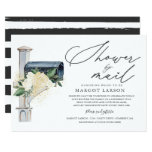 Bridal Shower By Mail Invitation Greenery & Gold