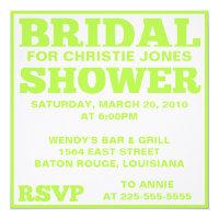 Bridal Shower Invitations Zazzle
