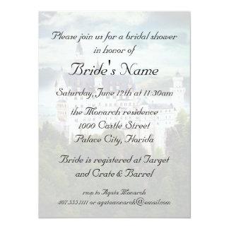 Bridal Shower, Castle Themed Wedding Card