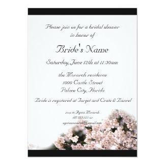 Bridal Shower, Cherry Blossom Theme Wedding Card