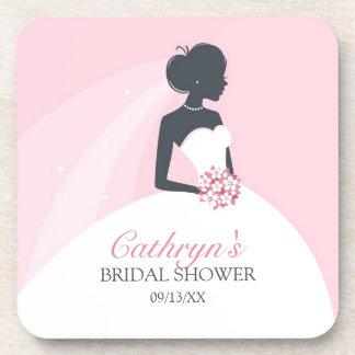 Bridal Shower Coasters (set of 4)