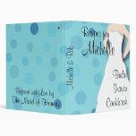 Bridal Shower Cookbook - Blues Binders