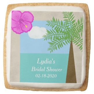 Bridal Shower Cookies or Cookie Favors Tropical