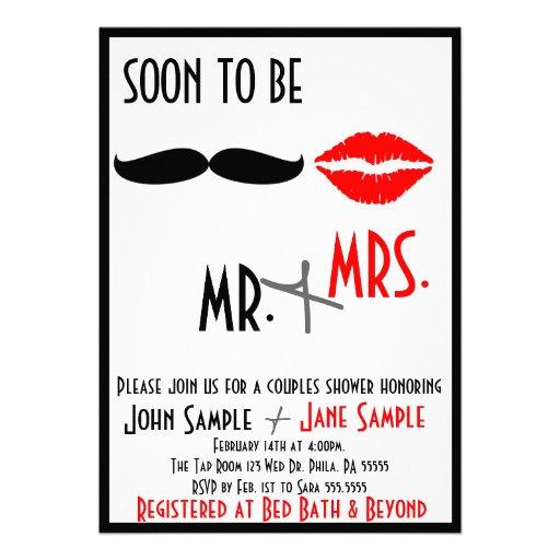 Bridal Shower Couples Invitation