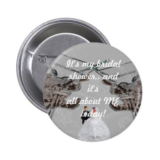 Bridal Shower Custom Button