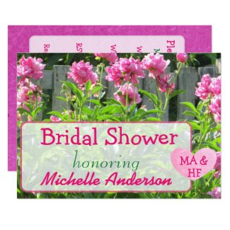 Bridal Shower Custom Invitations