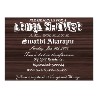 Bridal Shower Custom Invites