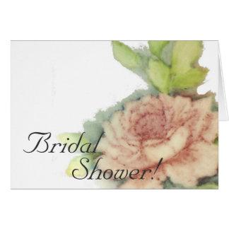 Bridal Shower!-Customize Card