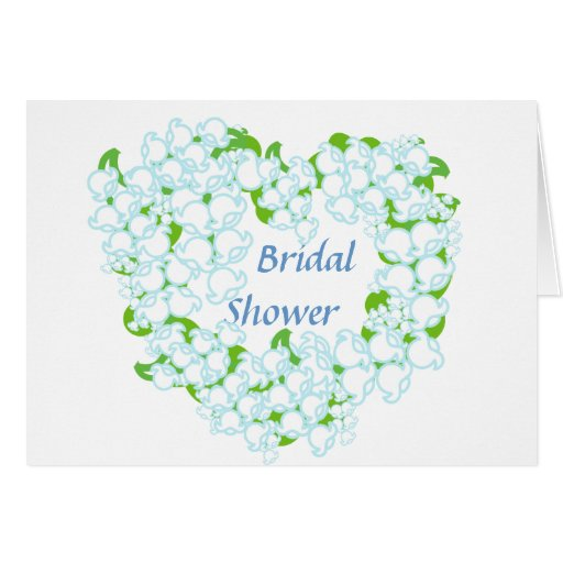 Bridal Shower-Customize Greeting Cards