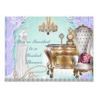 BRIDAL SHOWER DESIGN  INVITATION LAVENDER