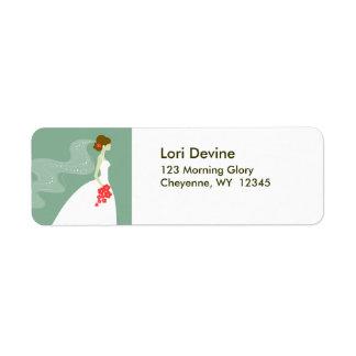 Bridal shower designer labels