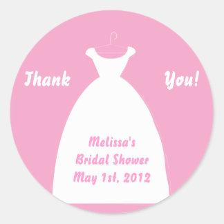 Bridal Shower Favor Labels Stickers