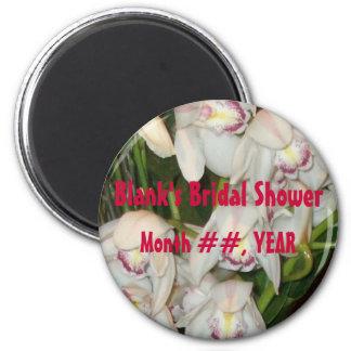 Bridal Shower favor - magnet; personalize Magnet