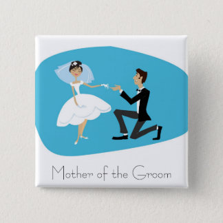 Bridal Shower Favor-Mother of the Groom Button