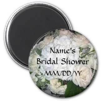 Bridal Shower favor - personalize date and name Magnet