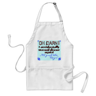 Bridal shower gift! Fun Cook Apron! Adult Apron