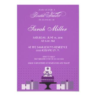 Bridal shower Gift invitation