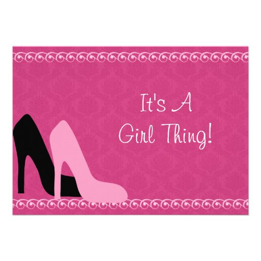 Personalized Ladies night out Invitations CustomInvitations4Ucom