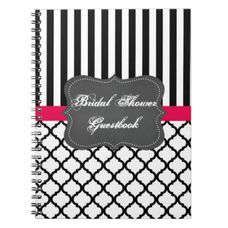 Bridal Shower guestbook Notebook