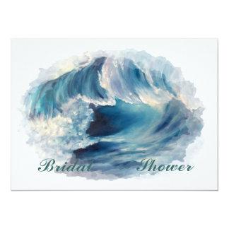 "Bridal shower 5.5"" x 7.5"" invitation card"