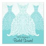 """Bridal Shower Invitation 5.25"""" Square Invitation Card"""