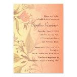 Bridal Shower Invitation 5x7 Floral