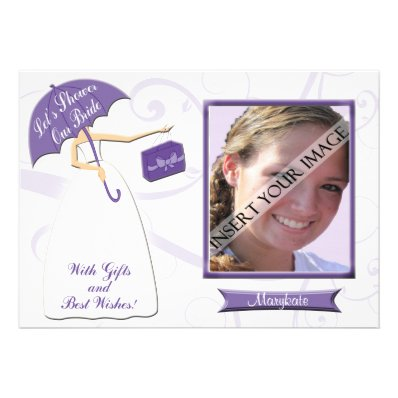 Bridal Shower Invitation and Photo Card