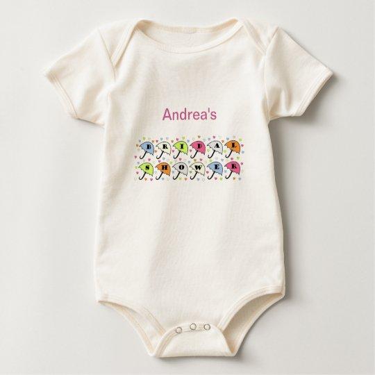 Bridal Shower Invitation Baby Bodysuit
