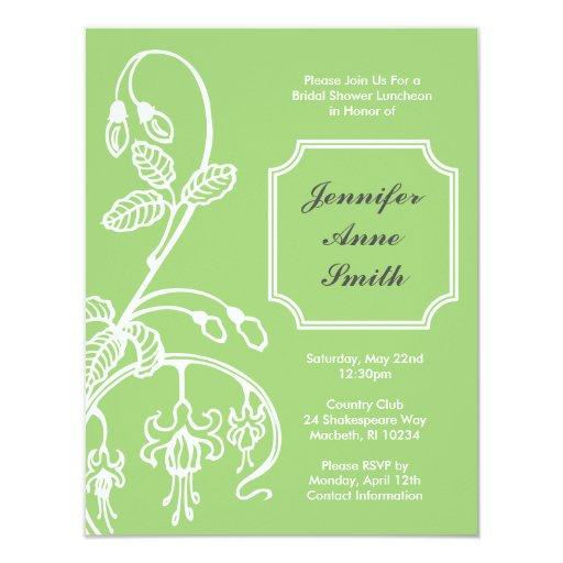 Bridal Shower Invitation - Bleeding Hearts