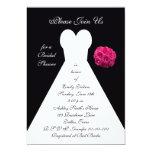 Bridal Shower Invitation -- Bridal Gown Invite