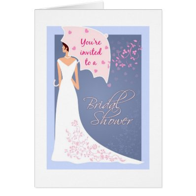 Bridal Shower Invitation Card