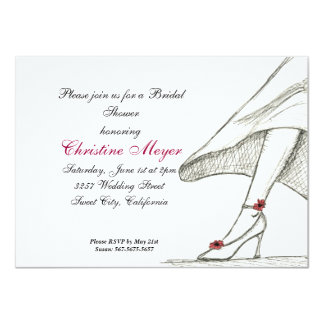 Bridal Shower Invitation - Design Sketch