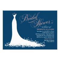 Bridal Shower Invitation | Elegant Wedding Gown (<em>$1.90</em>)