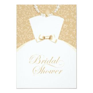 "Bridal Shower Invitation Flat Card 5"" X 7"" Invitation Card"