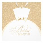 Bridal Shower Invitation Flat Card