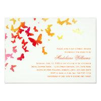 Bridal Shower Invitation   Fluttering Butterflies (<em>$2.01</em>)