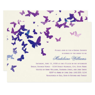 Bridal Shower Invitation | Fluttering Butterflies