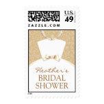 Bridal Shower Invitation Medium Postage