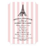 Bridal Shower Invitation   Paris Eiffel Tower