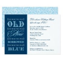 Bridal Shower Invitation | Something Blue