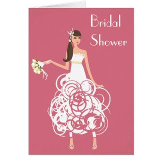 Bridal Shower invitation Stationery Note Card
