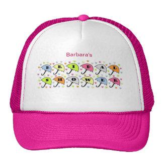 Bridal Shower Invitation Trucker Hats