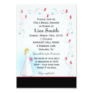 Bridal Shower Invitation - Vegas Theme
