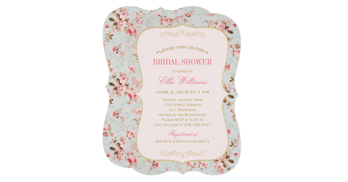 Garden Party Invitations Garden Party Bridal Shower Invitations By ...