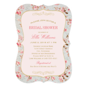 Bridal Shower Invitation | Vintage Garden Party 5