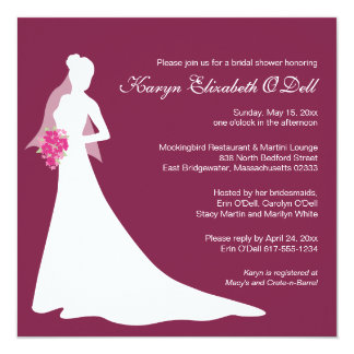 Bridal Shower Invitations - Custom