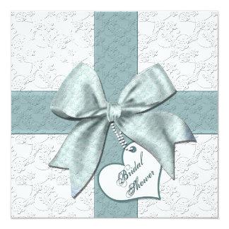 Bridal Shower Invitations  - Gift - Teal